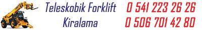 Eskişehir Kiralık Forklift – Kiralık Manitou
